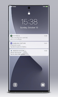Lock Screen S21 Galaxy Style 1.0.3 APK + Mod (Free purchase) for Android