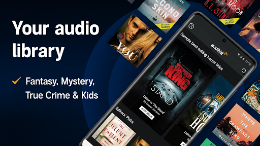 Audible: audiobooks, podcasts & audio stories android2mod screenshots 6