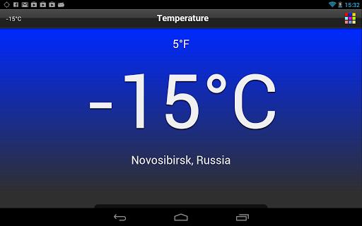 Temperature  screenshots 13