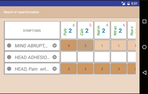 Homoeopathic Repertorium 3.8.9.6 Screenshots 3