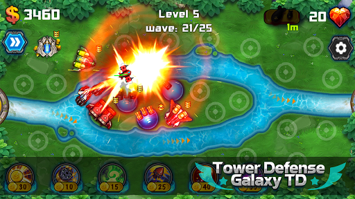 Tower Defense: Galaxy TD 1.3.2 screenshots 5