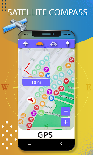 gps navigation tools & speedometer 2020 screenshot 2