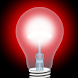 赤色光。 - Androidアプリ
