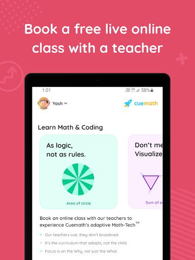 Cuemath: Math Games, Online Classes & Learning App 1.34.0 Screenshots 16