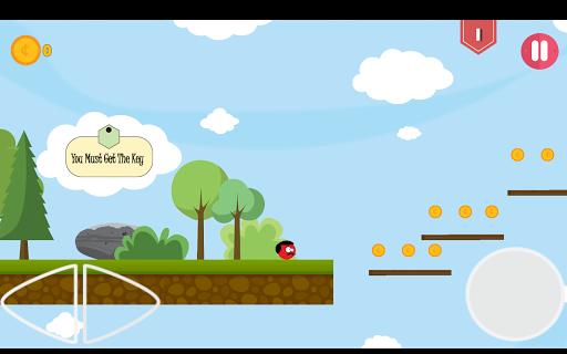 Super Red Jump Ball Mr Mustache 2.3 screenshots 16
