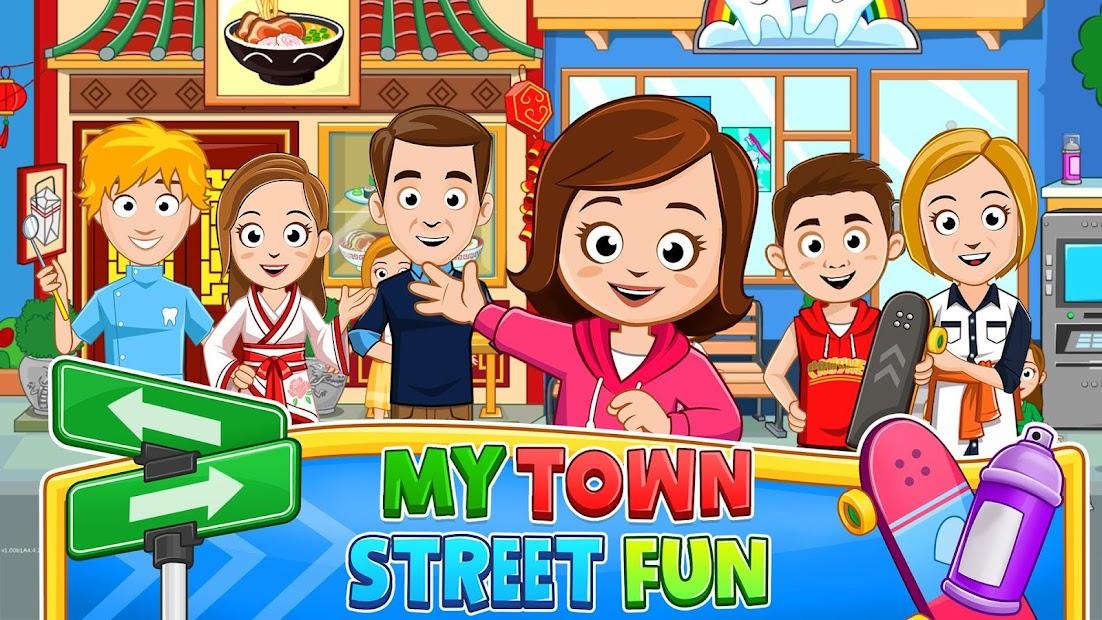 My Town : مرح الشارع