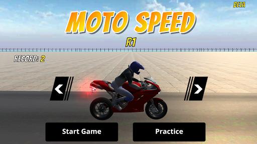 Moto Speed The Motorcycle Game  screenshots 3
