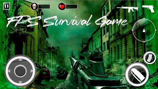Z For Zombie Mod Apk: Freedom Hunters (God Mode/Dumb Enemy) 2