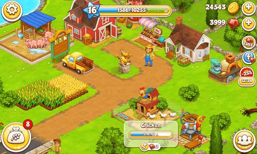 Farm Town: Happy village near small city and town  Screenshots 5