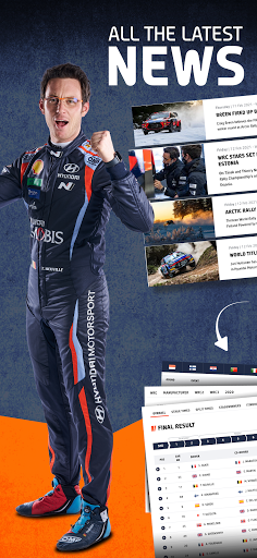 WRC u2013 The Official App apktram screenshots 5