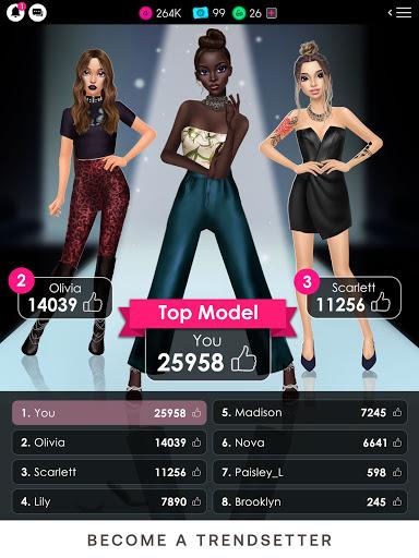 GLAMM'D - Style & Fashion Dress Up Game apktram screenshots 24