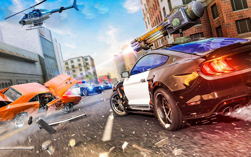 Police Chase vs Thief: Police Car Chase Game  screenshots 1