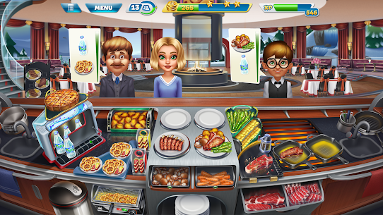 Cooking Fever MOD (Unlimited Coins/Gems) 6