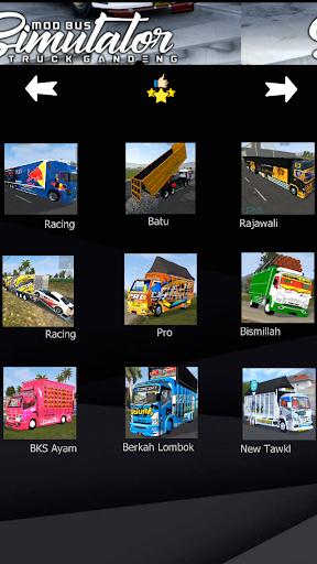 Mod Bus Simulator Truck Gandeng