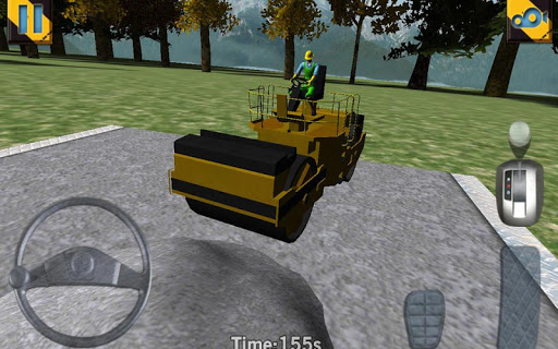 road roller parking extended screenshot 1