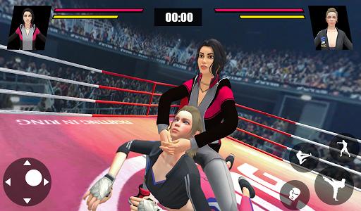 Women Wrestling Ring Battle: Ultimate action pack apkslow screenshots 11