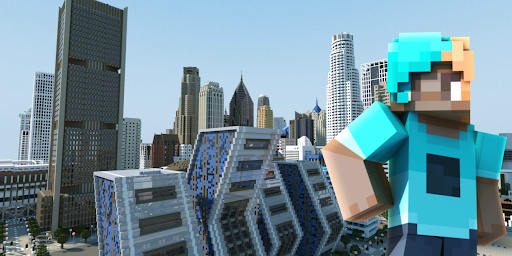 City Maps for Minecraft PE hack tool