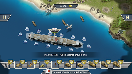 1942 Pacific Front – a WW2 Strategy Mod Apk (Unlimited Gold Coins) 7