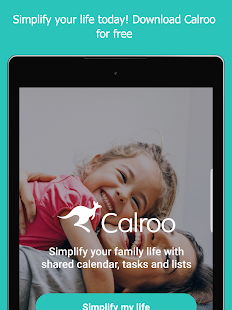 Calroo Family Organizer Screenshot