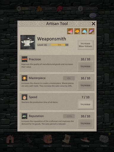 Heroes and Merchants RPG apkslow screenshots 23