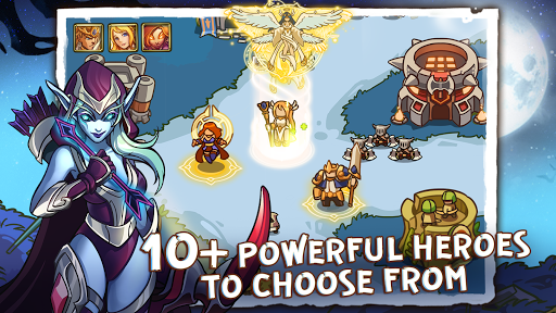Empire Defender TD: Tower Defense The Fantasy War Varies with device screenshots 3