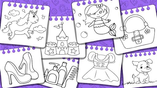 Princess Coloring Book & Games 1.44 Screenshots 16