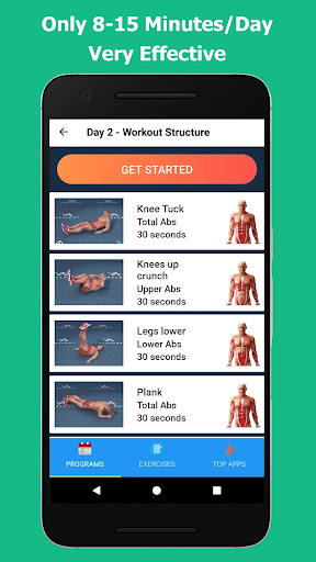 Six Pack in 30 Days - Abs Workout 1.5.0 Screenshots 4
