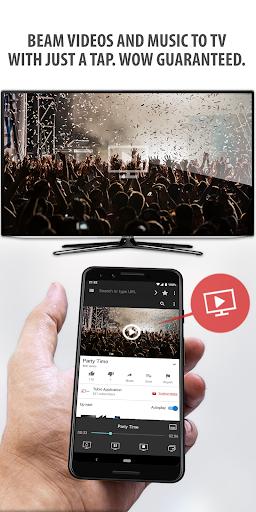 Tubio - Cast Web Videos to TV, Chromecast, Airplay 2.68 Screenshots 1