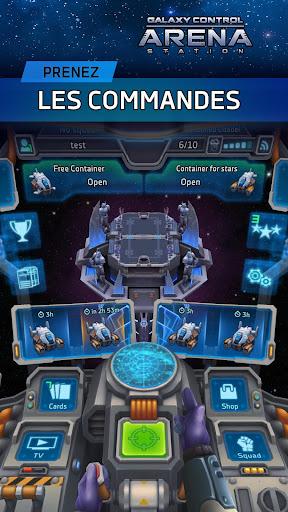 Télécharger Combats JCJ en ligne Contrôle de la galaxie: Arène APK MOD (Astuce) screenshots 1