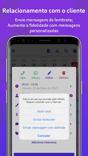 MinhaAgenda: Agenda profissional android2mod screenshots 6