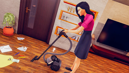 Real Mother Life Simulator- Happy Family Games 3D  Pc-softi 3