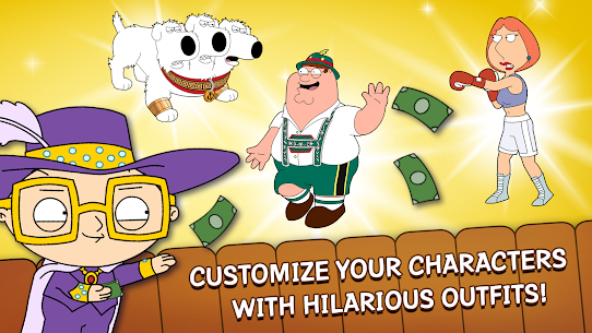 Family Guy: The Quest for Stuff MOD APK (Free Shopping) 4