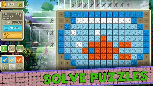 picture cross simple mosaics screenshot 1