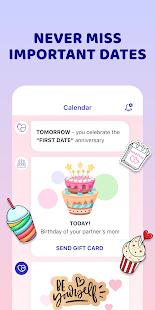 Love Calendar and Widget