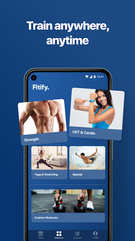 Fitify: Workout Routines & Training Plans  poster 2