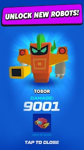 Merge Tower Bots Mod Apk (Unlimited Money) 6