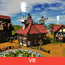 Cartoon Village for Google Cardboard