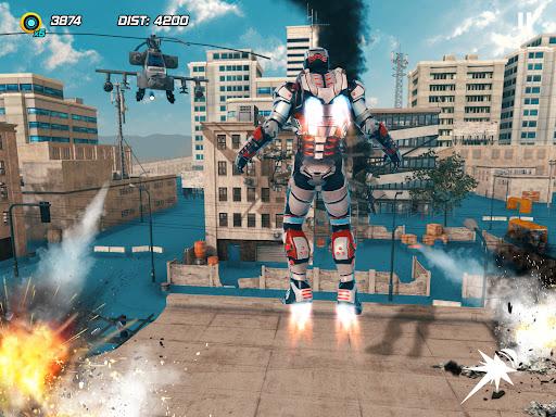 Iron Avenger - No Limits apkpoly screenshots 8