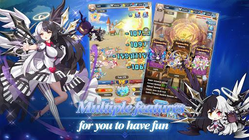 Idle Goddess-Best Idle RPG apkpoly screenshots 10