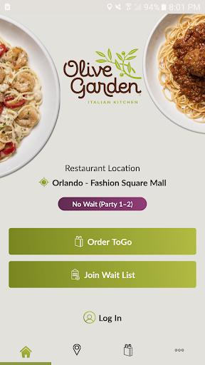 Olive Garden Italian Kitchen 2.5.4 screenshots 1