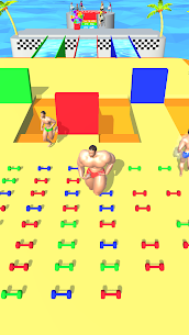 Muscle Race 3D (MOD, Unlimited Money) For Android 1
