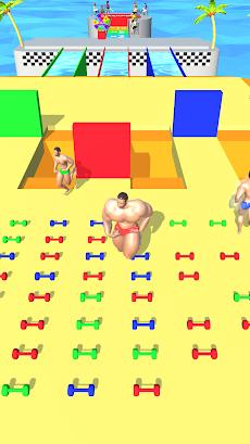 Muscle Race 3Dのおすすめ画像1