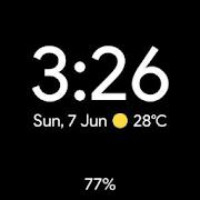 Pixel Watch face - Minimal pixel style watch face