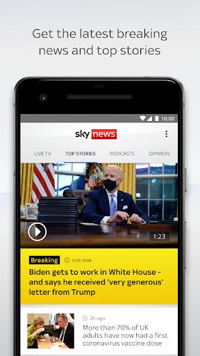 Sky News: Breaking, UK, & World  screenshots 1