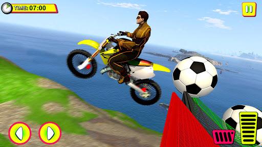 Superhero Tricky bike race (kids games)  Screenshots 4