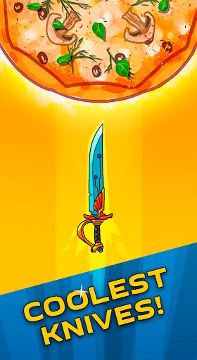 food cut  - knife throwing game screenshot 2