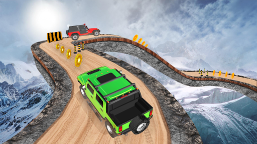 Offroad Jeep Driving Stunt 3D : Real Jeep Games apkpoly screenshots 3