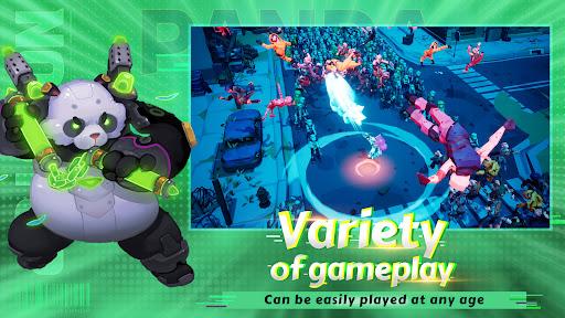Nonstop Game: Cyber Raid