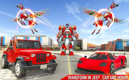 Horse Robot Games - Transform Robot Car Game 1.2.3 screenshots 12