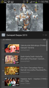 <p>This app is used to play Ganesh Pandal Songs. </p><p>feel the power of this app and give us feed back to make this more comfortable.</p>